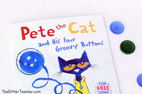 Foto de Pete the cat and his four groovy buttons