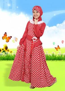 Model baju muslim anak modern