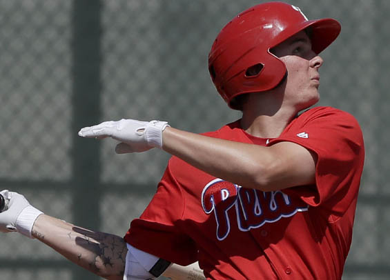 Mickey Moniak ranked as Philadelphia's top prospect per MLB.com