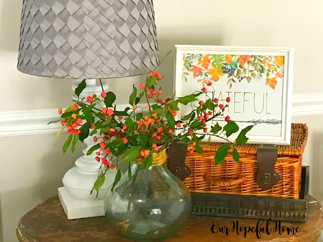 Thrill of the Hunt thrifted goods decor