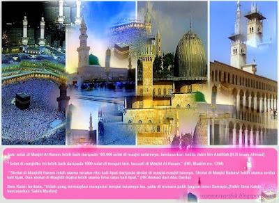 4 Masjid Tumpuan Didalam Dunia Islam