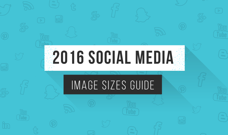 The Ultimate Cheat Sheet to Social Media Image Sizes - infographic