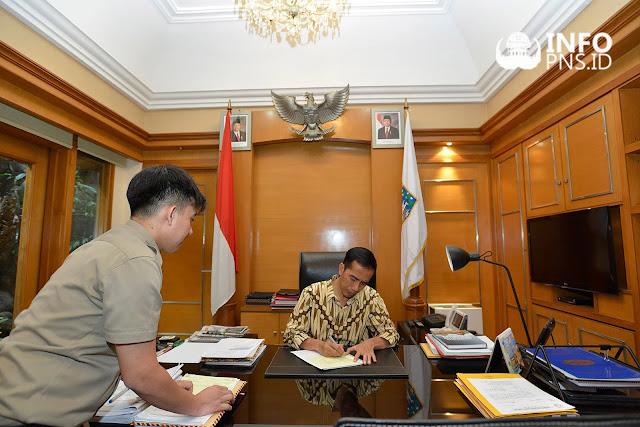 Kabar Gembira ! Presiden Jokowi Sudah Beri Restu Penerimaan CPNS 2018