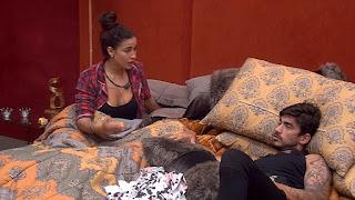 BBB20: Bianca conversa com Guilherme no Quarto do Líder  'Tiraria o Pyong'