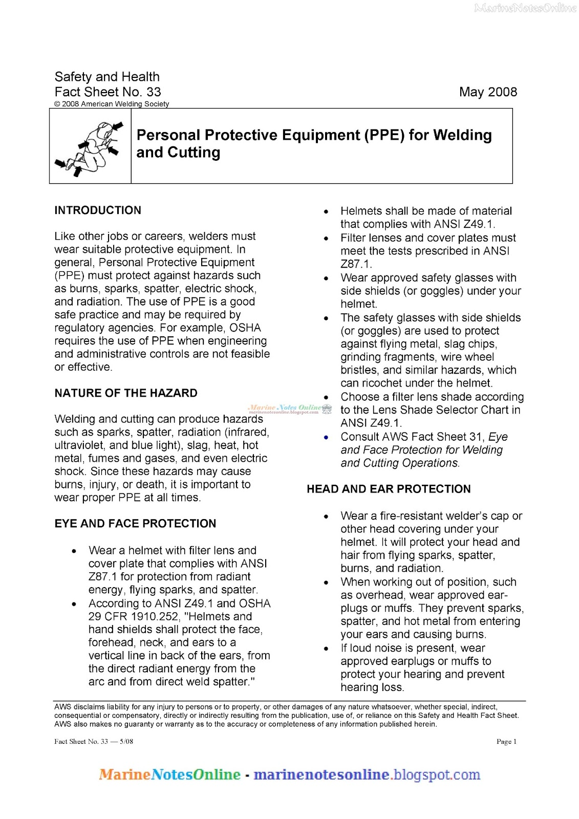 Personal Protective Equipment Ppe For Welding And