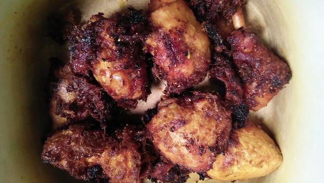 Ini Kawan dia, resepi masak lemak putih, resepi ayam goreng berempah, ikan masin, lauk kampung, menu simple