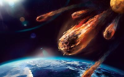 dünyaya meteor mu çarpacak