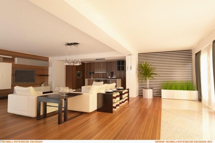 Design interior casa moderna Constanta - Mobila living Constanta