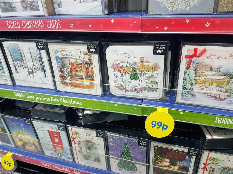 Card Factory 的聖誕節賀卡