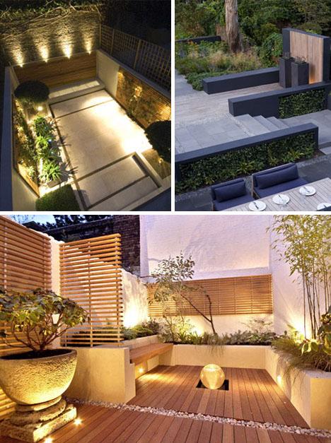 Kgk Gardening Landscape: Decoración De Jardines Modernos En Casas Urbanas
