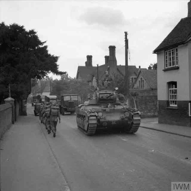 Matilda Tank in England 30 September 1941 worldwartwo.filminspector.com