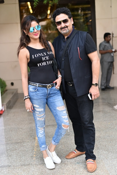 Model Amanpreet Wahi Narula and Entrepreneur Umesh Dutt
