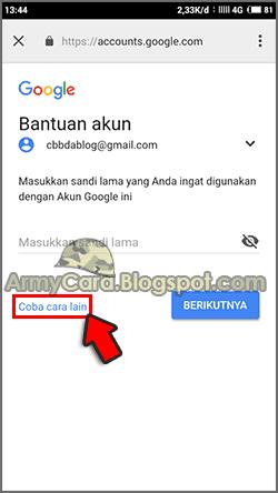 Lupa Kata Sandi Akun Google Lewat Hp Tanpa No Email Pemulihan
