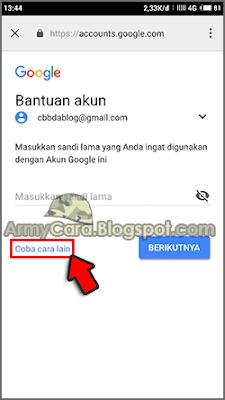 cara ganti sandi akun google di hp android