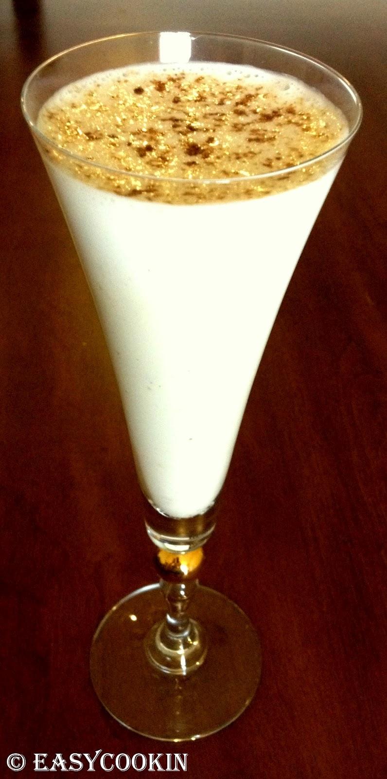Salted Cucumber Lassi Yogurt Drink