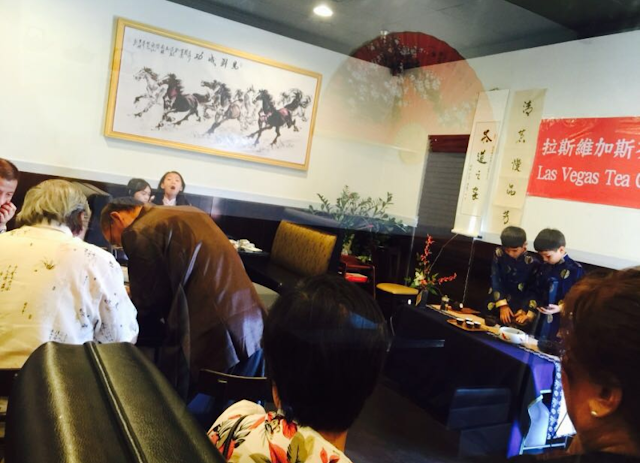 Las Vegas Tea Culture Institute (LVTCI) presents traditional Chinese Tea Ceremony
