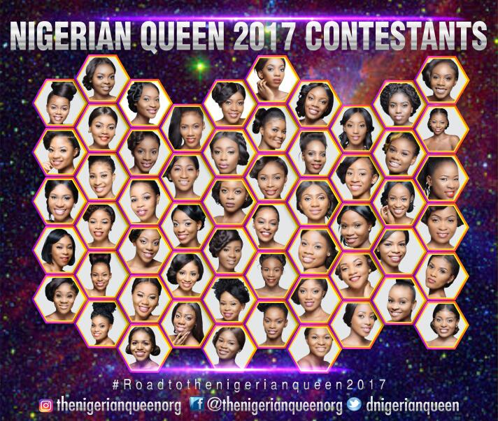 Confusion as 'The Nigerian Queen 2017' contestants are unveiled
