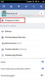 cara mengetahui email facebook sendiri lewat hp
