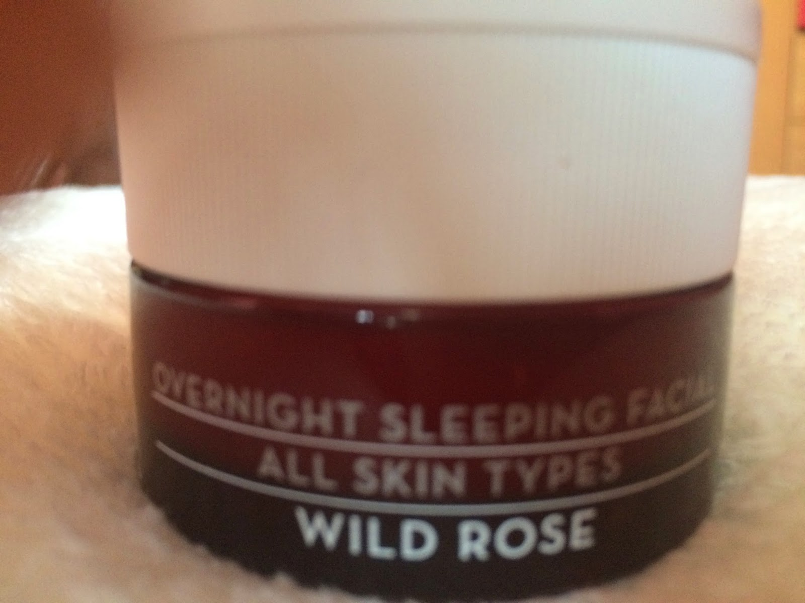 wild rose advanced repair sleeping facial by Korres review bubblybeauty135