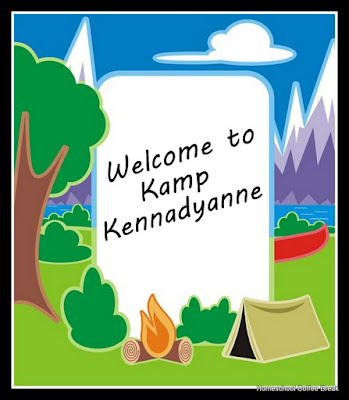 "Welcome to Kamp Kennadyanne on Homeschool Coffee Break @ kympossibleblog.blogspot.com - How we created our own ""day camp"" for the one kid that wasn't going on the youth group trip!"