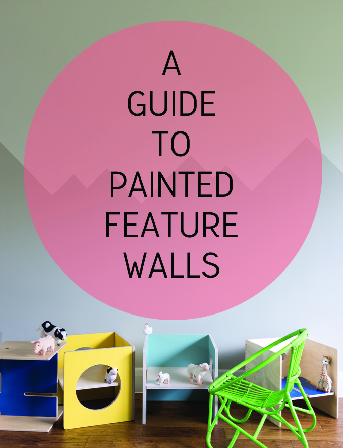 a guide to feature walls http://www.archieandtherug.com/