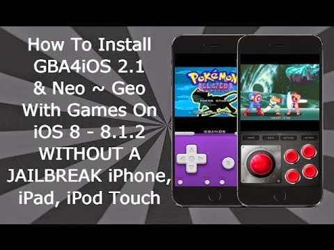 Without jailbreak How to install iOS GBA4iOS 8 - 8 1 2