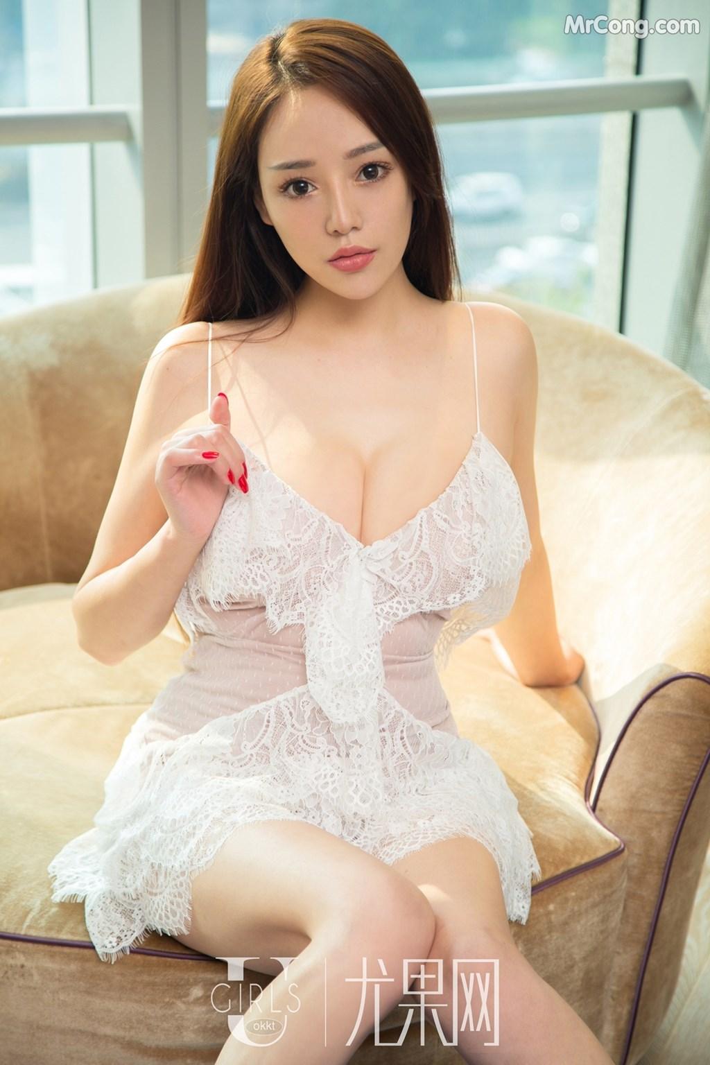 Image UGIRLS-U310-Yang-Qiao-Zhi-MrCong.com-005 in post UGIRLS U310: Người mẫu Yang Qiao Zhi (杨乔之) (66 ảnh)