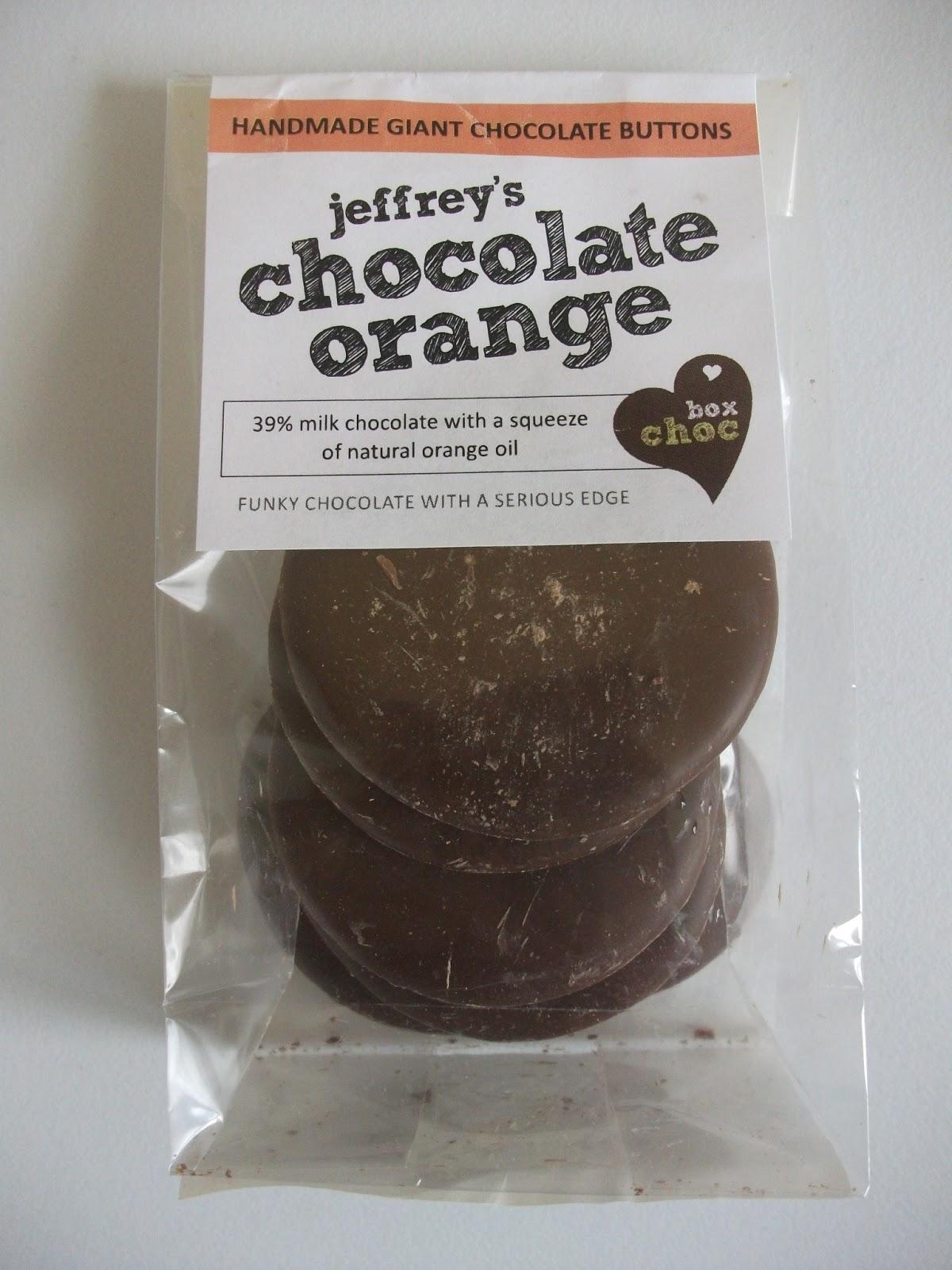 Boxchoc Jeffreys Chocolate Orange Buttons