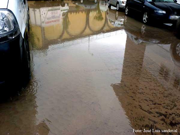Fuerte lluvias y granizo en el norte de Gran Canaria jueves 22 noviembre