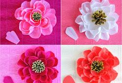 Cara Membuat Bunga Dari Kertas Krep Yang Mudah Dan Cantik Naramedia