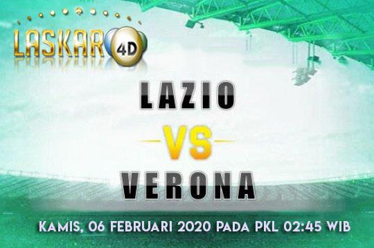 Prediksi Pertandingan Lazio vs Verona 06 Februari 2020