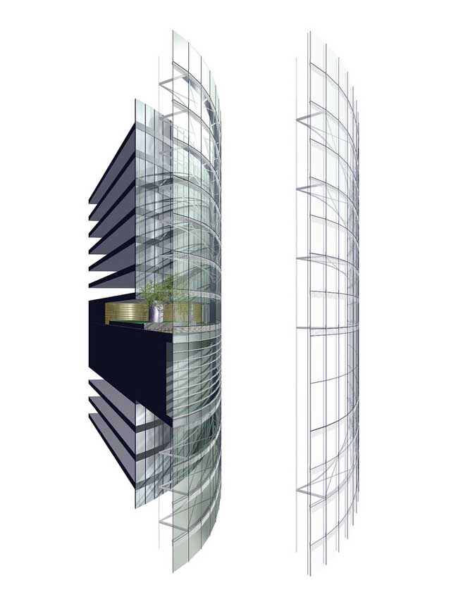 World Of Architecture Shanghai Tower World S Second