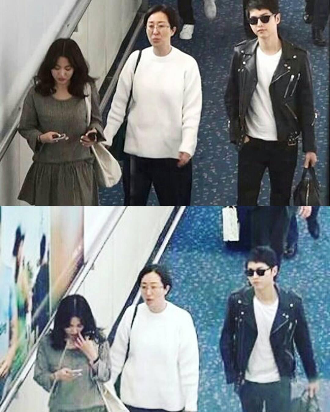 Update Foto Foto Song Hye Kyo Song Joong Ki Di Hongkong Widipedia Korea