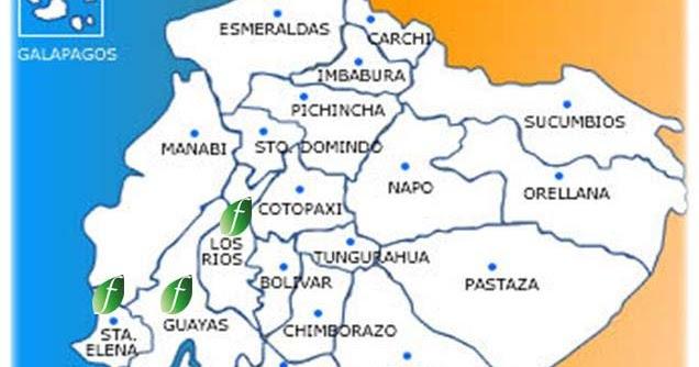 Mapas de Ecuador: Mapa del ecuador para colorear