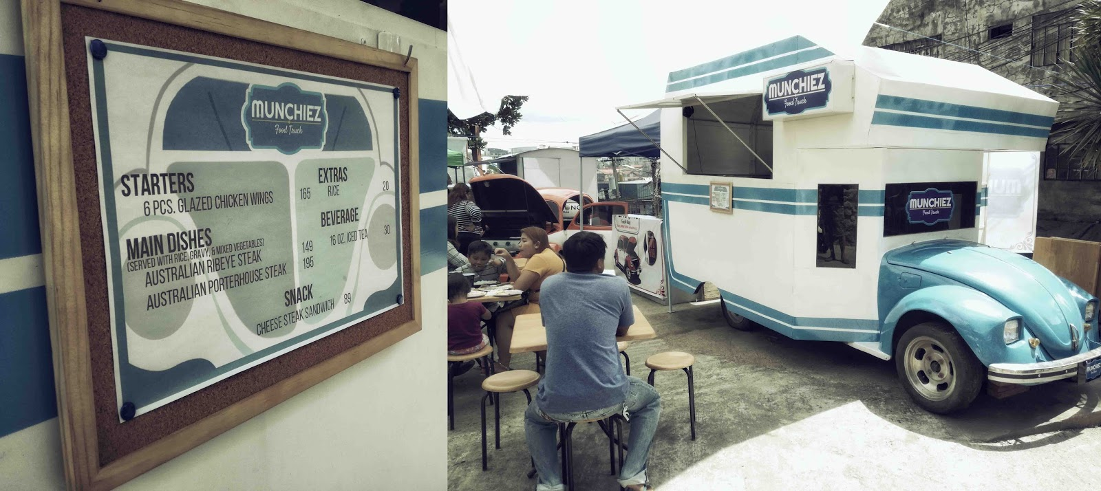Volkswagen Food Trucks At Calle Uno Food Hub Baguio City