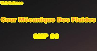 Cours Mécanique Des Fluides SMP S6 PDF