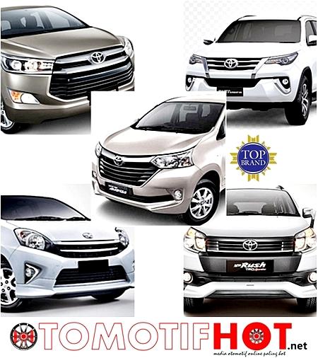 Inilah 5 Mobil Toyota Yang Meraih Gelar Top Brand Award 2016