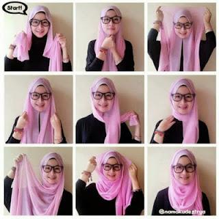 Tutorial Hijab Simpel