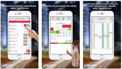 aplikasi ios kalender haid dan ovulasi