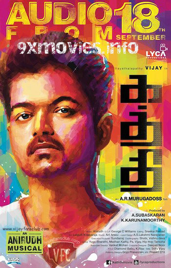 Kaththi 2014 UNCUT Dual Audio Hindi 720p HDRip 1.2GB