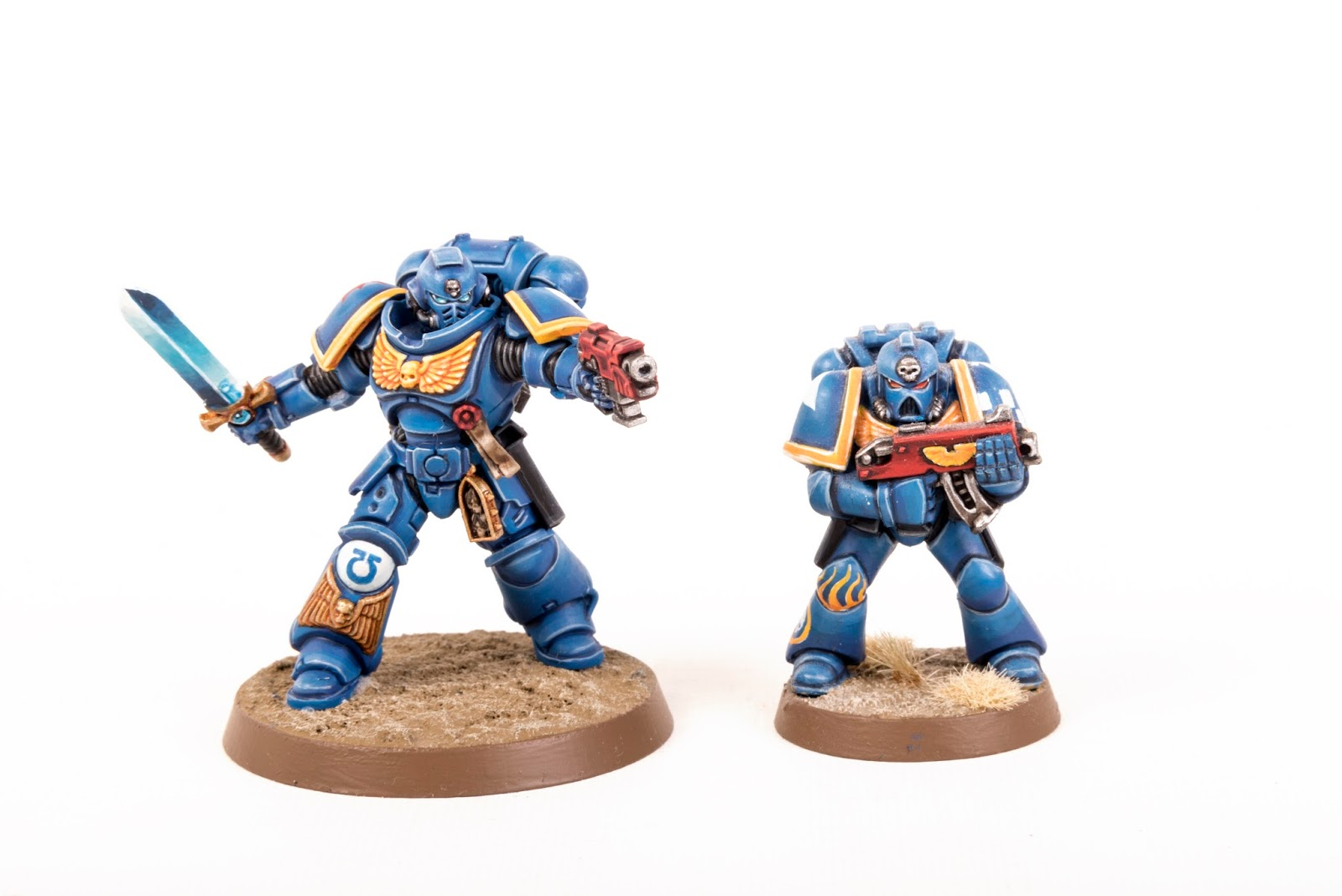 7922752cfd71 I m a big fan of the 2nd edition Ultramarine Scheme which has some nice  bright colours. I was really intrigued to see how it would translate to a  Primaris ...