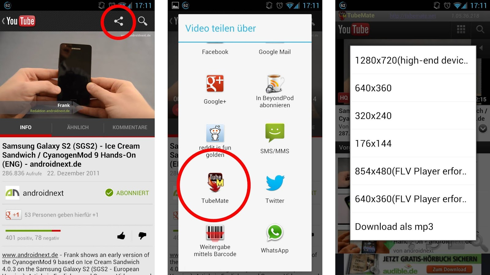 Download Tubemate For Oppo Neo 5a