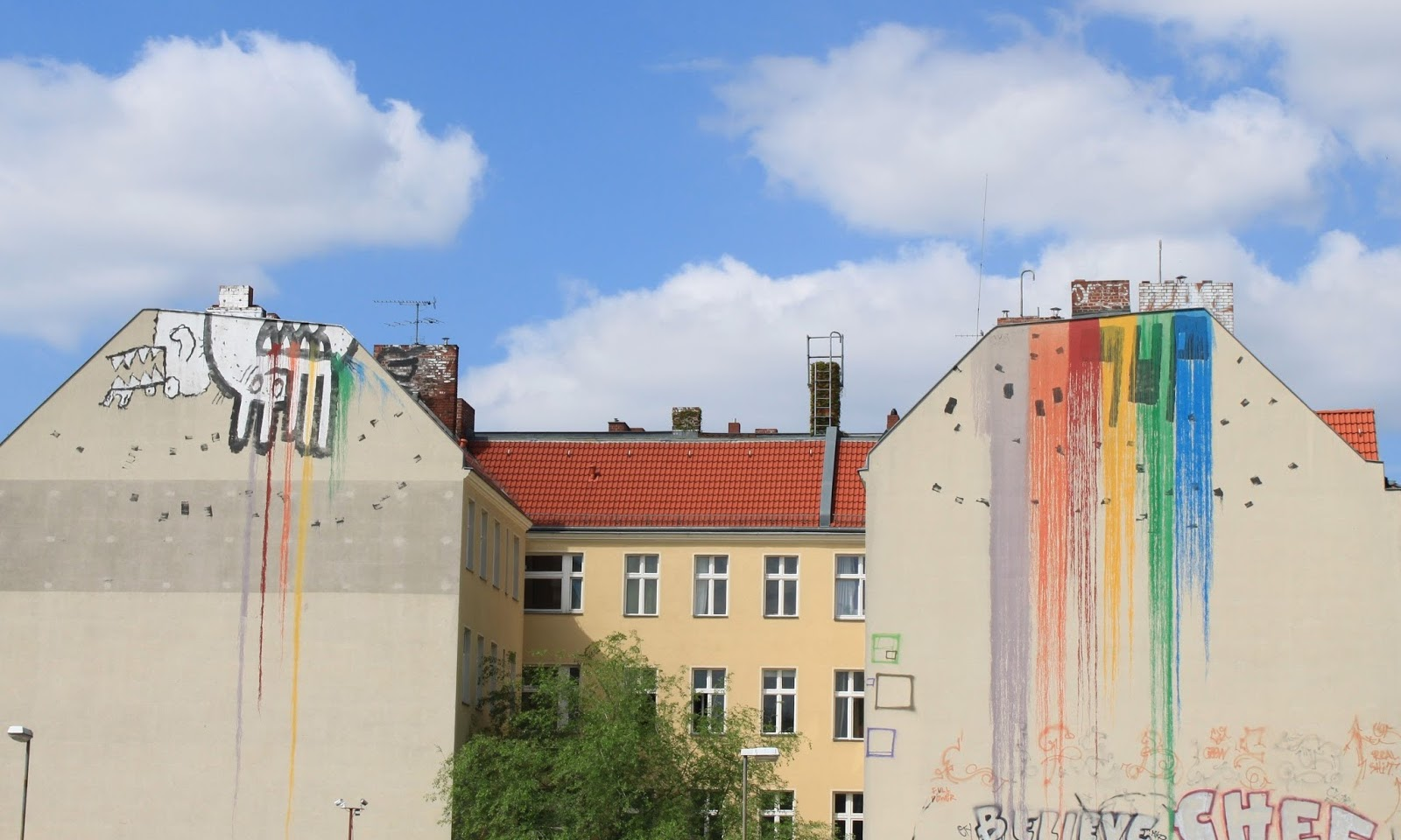 Street-art w Berlinie – Neukölln • Śladami serialu 4BLOCKS