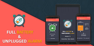 Android Full Battery & Unplugged Alarm App