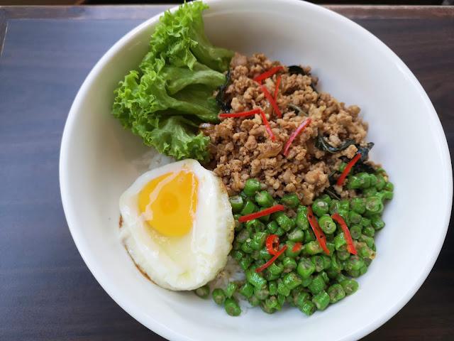 Minced Pork with Thai Basil
