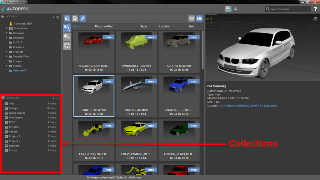 Download Autodesk 3ds Max Asset Library v1 1 5 | Computer
