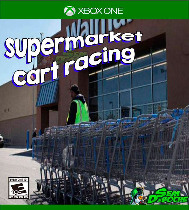 SUPERMARKET CART RACING