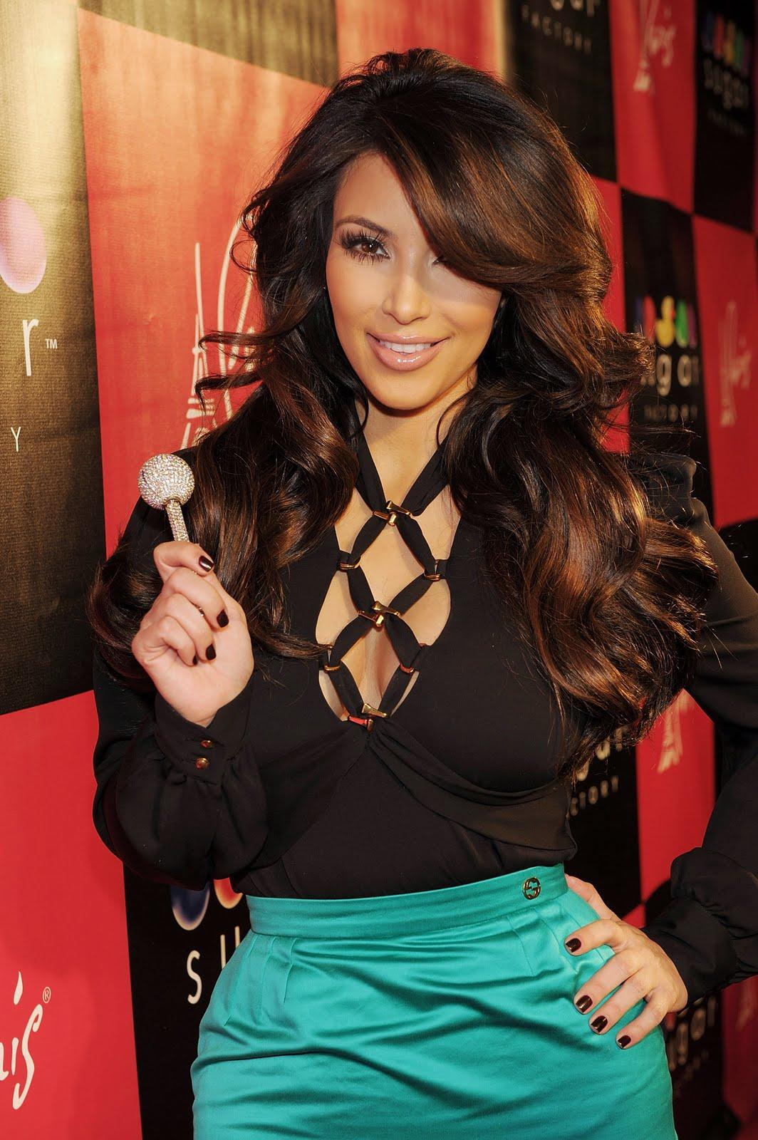 Celebrate Progress Kim Kardashian Black Blouse Amp Green