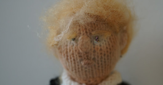Knit your own Real Donald J. Trump (not fake)