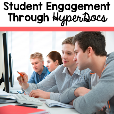 It is our job as educators to prepare our students for their future. When students are provided choice over space, pace, process and product they begin to engage more with the content being taught. HyperDocs are an excellent way to differentiate classroom lessons to help your students learn the content in a format geared towards the 21st century learner from the 2 Peas and a Dog blog.